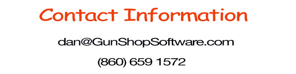Contact GunShop Software