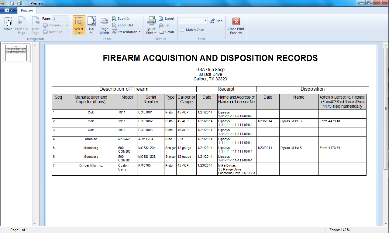 Home GunShop Software - Free invoice for mac best online gun store